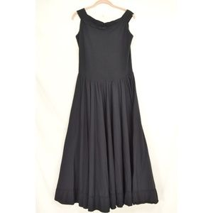 Luna Luz Dresses - Luna Luz dress L black sleeveless balloon tie up p